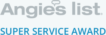 Angie's List Super Service Award certification