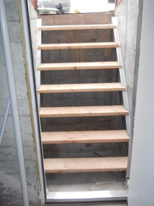 Replacement Stairs for Hatchway area