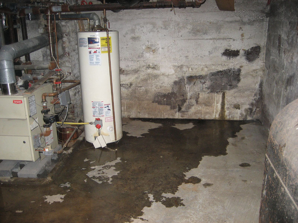 signs that you have a bad case of basement leakage in meriden ct 06450