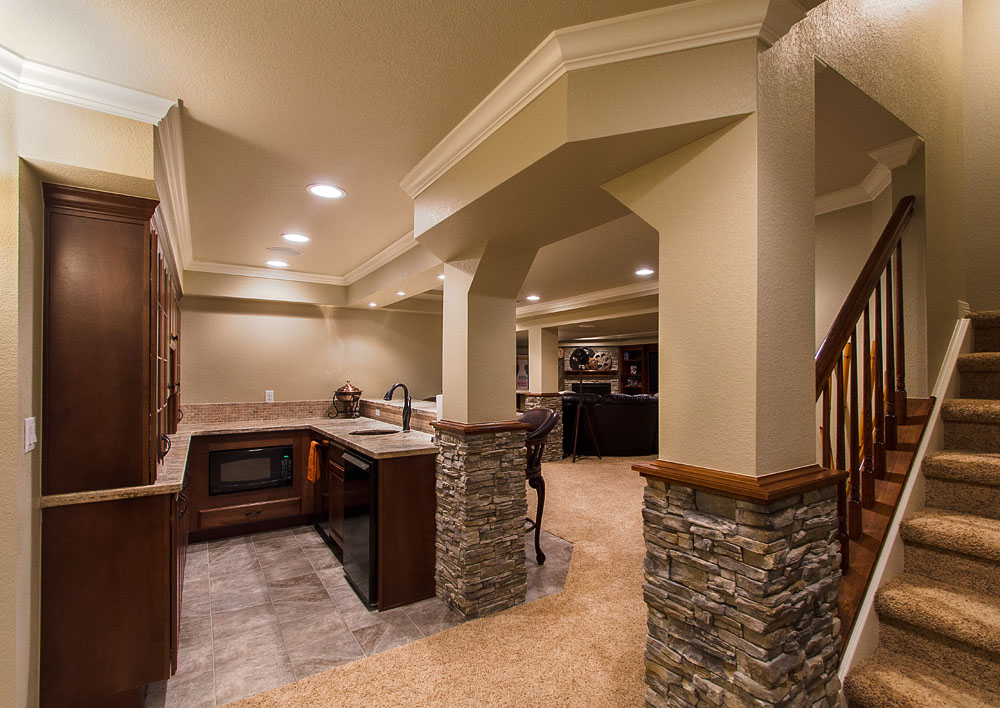 Professional basement finishing services in guilford ct can give you more space this winter - Basement design services ...