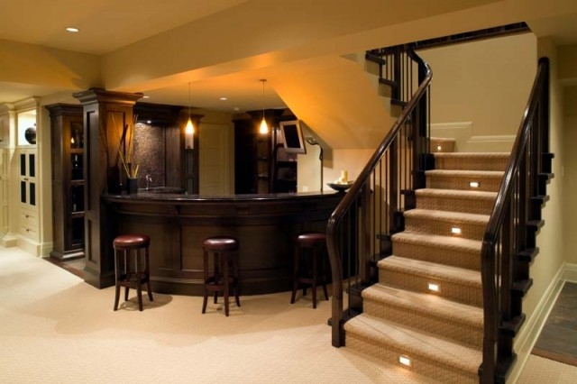 bar basement luxury estate home