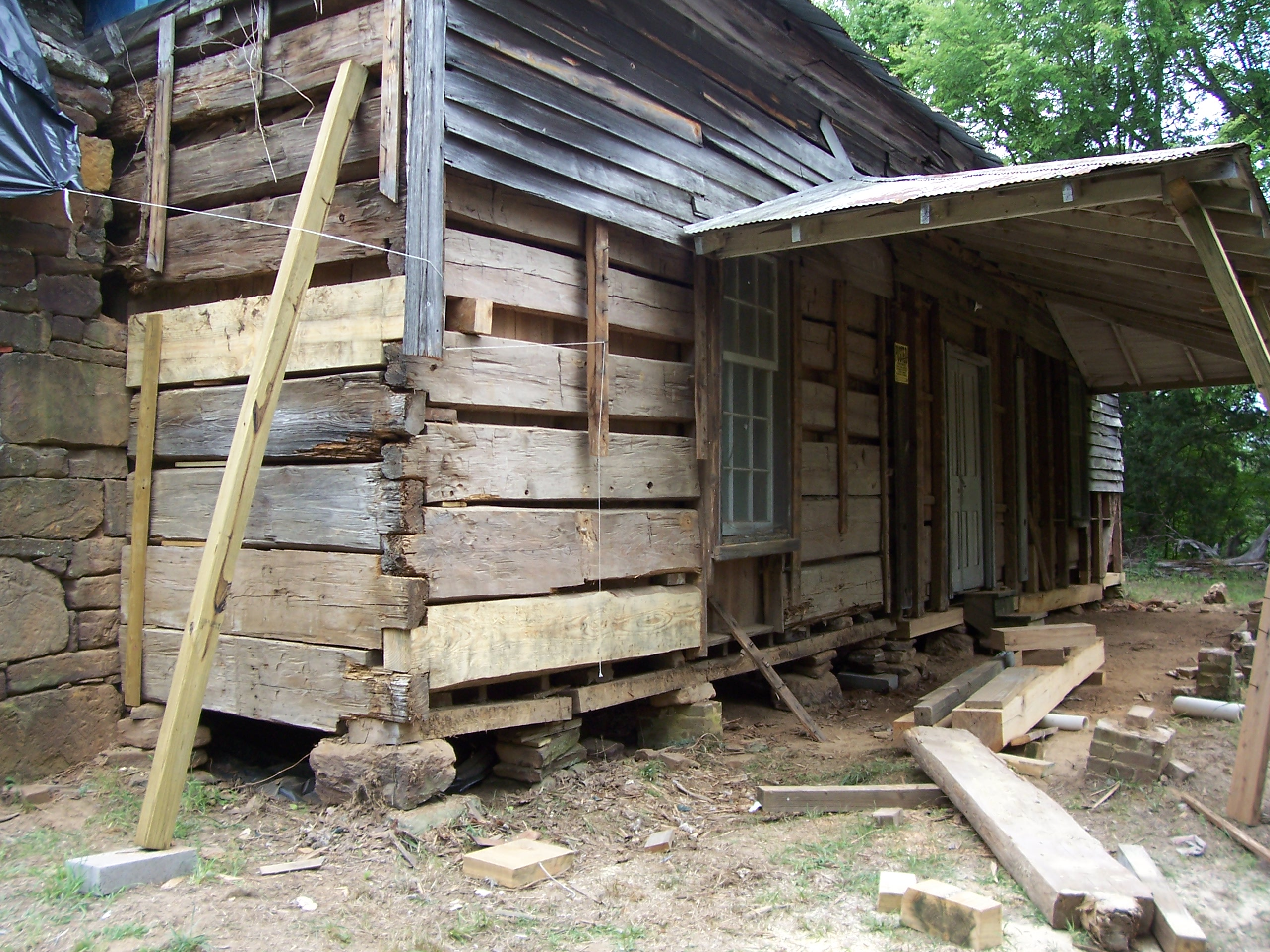 Wooden foundations may not be as bad as you think for Old house foundation types