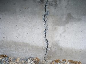 Foundation Wall Cracks | Stamford CT | Budget Dry Waterproofing