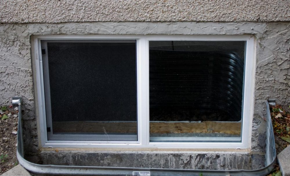 Basement Window Installation In Guilford Ct