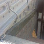 Custom basement door padding