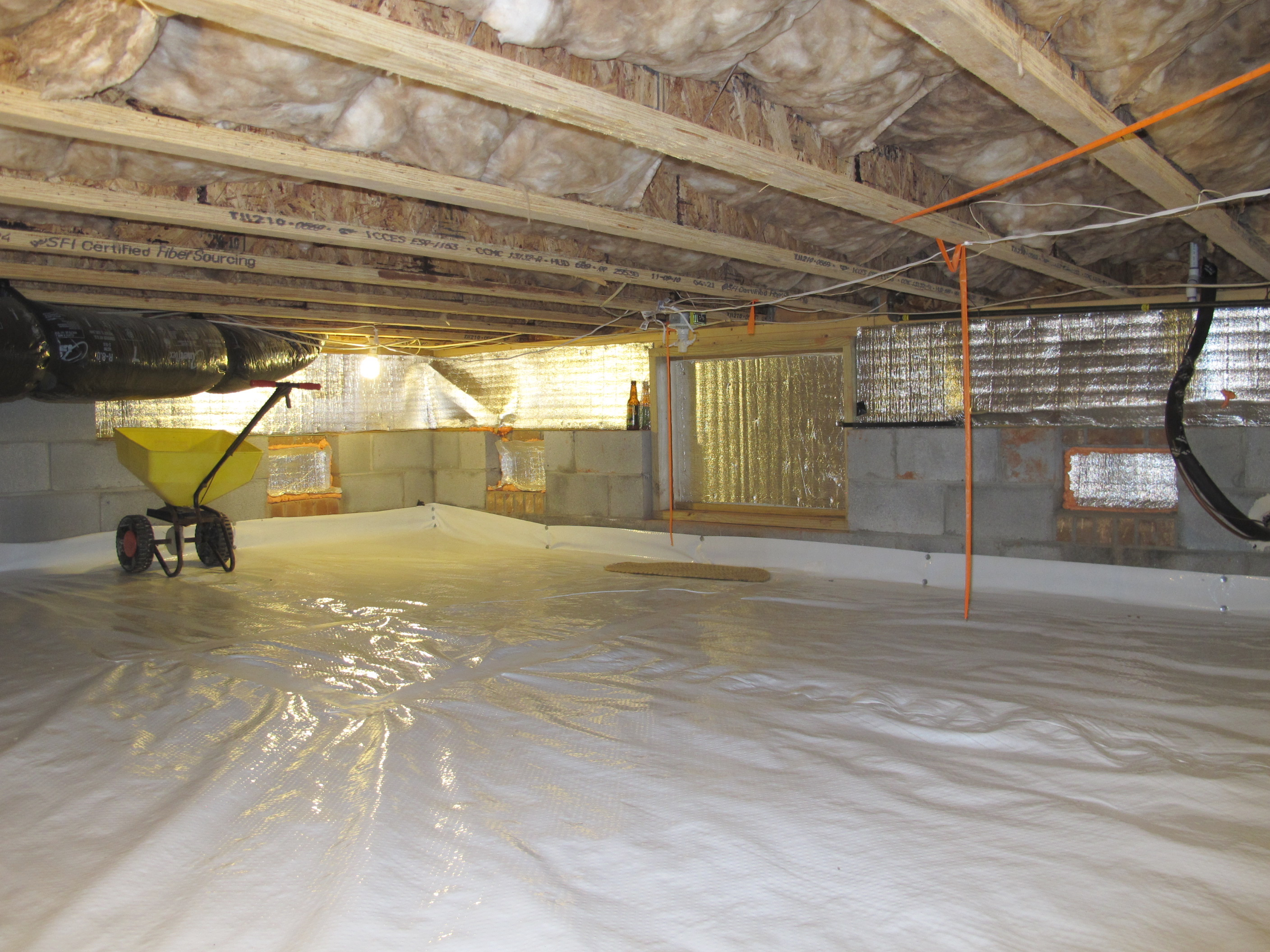 Common Crawl Space Waterproofing Myths